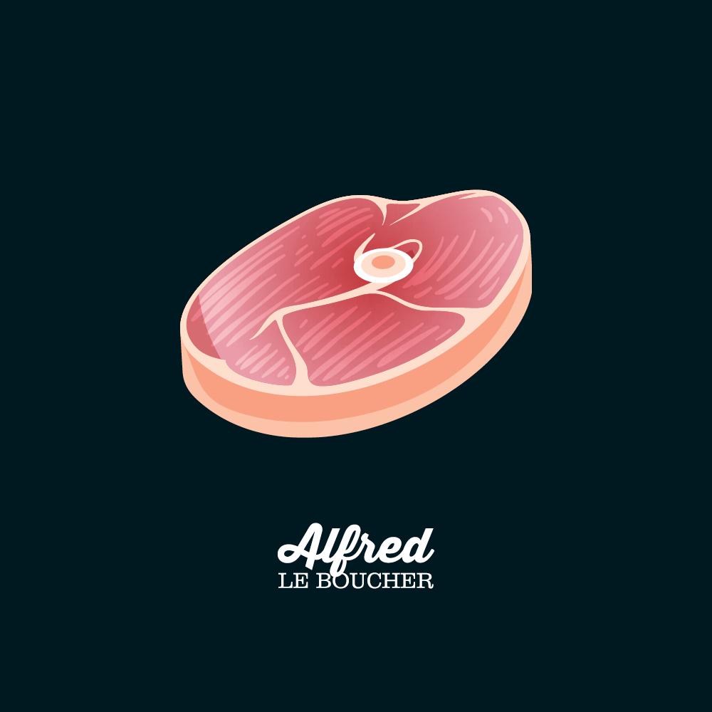 Osso bucco de porc d'Alfred le Boucher