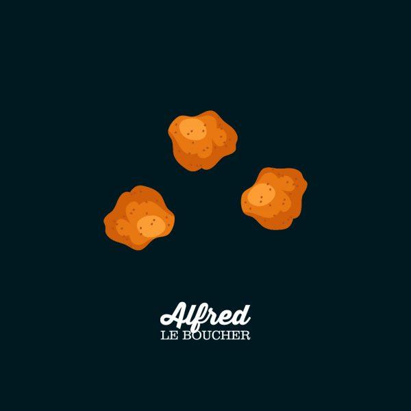 Pépites de poulet d'Alfred le Boucher