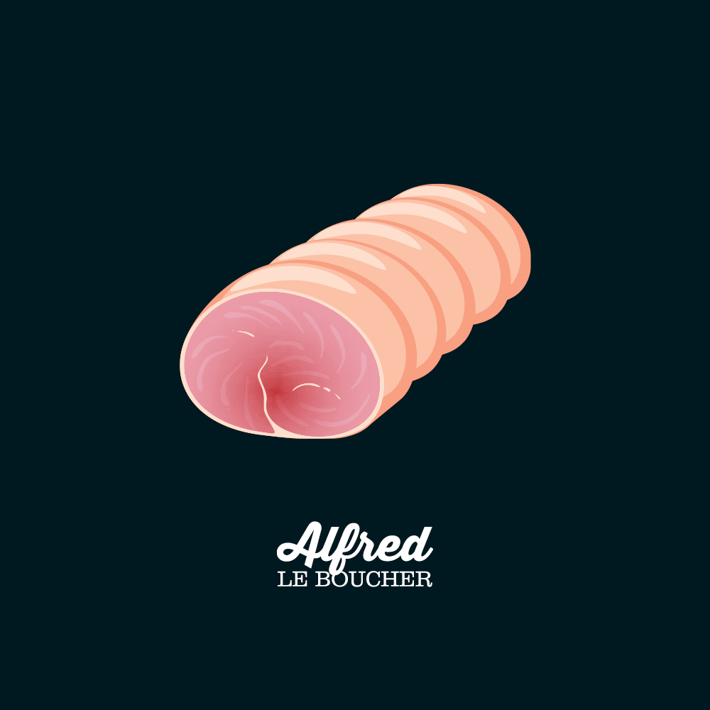 Rôti de porc d'Alfred le Boucher