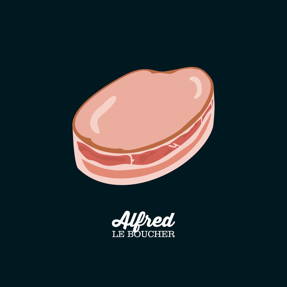 Tournedos de poulet d'Alfred le Boucher
