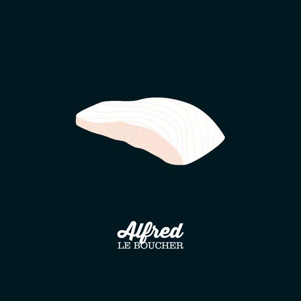Longe d'aiglefin d'Alfred le Boucher