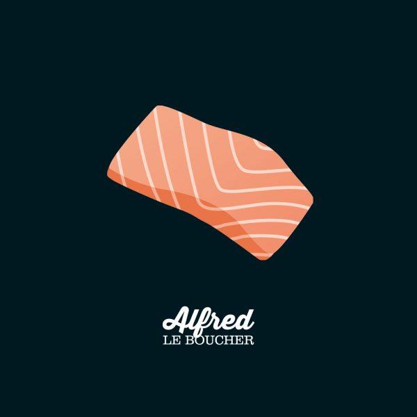 Filet de saumon d'Alfred le Boucher