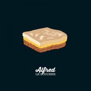 Pâté chinois d'Alfred le boucher