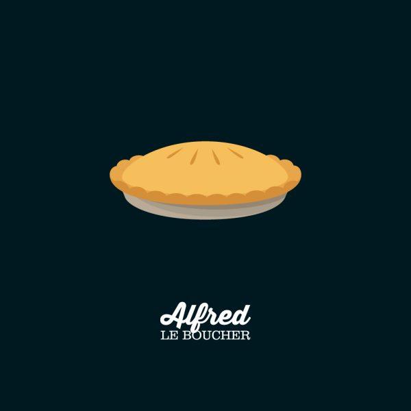 Pâté à la viande des Rangs d'Alfred le Boucher