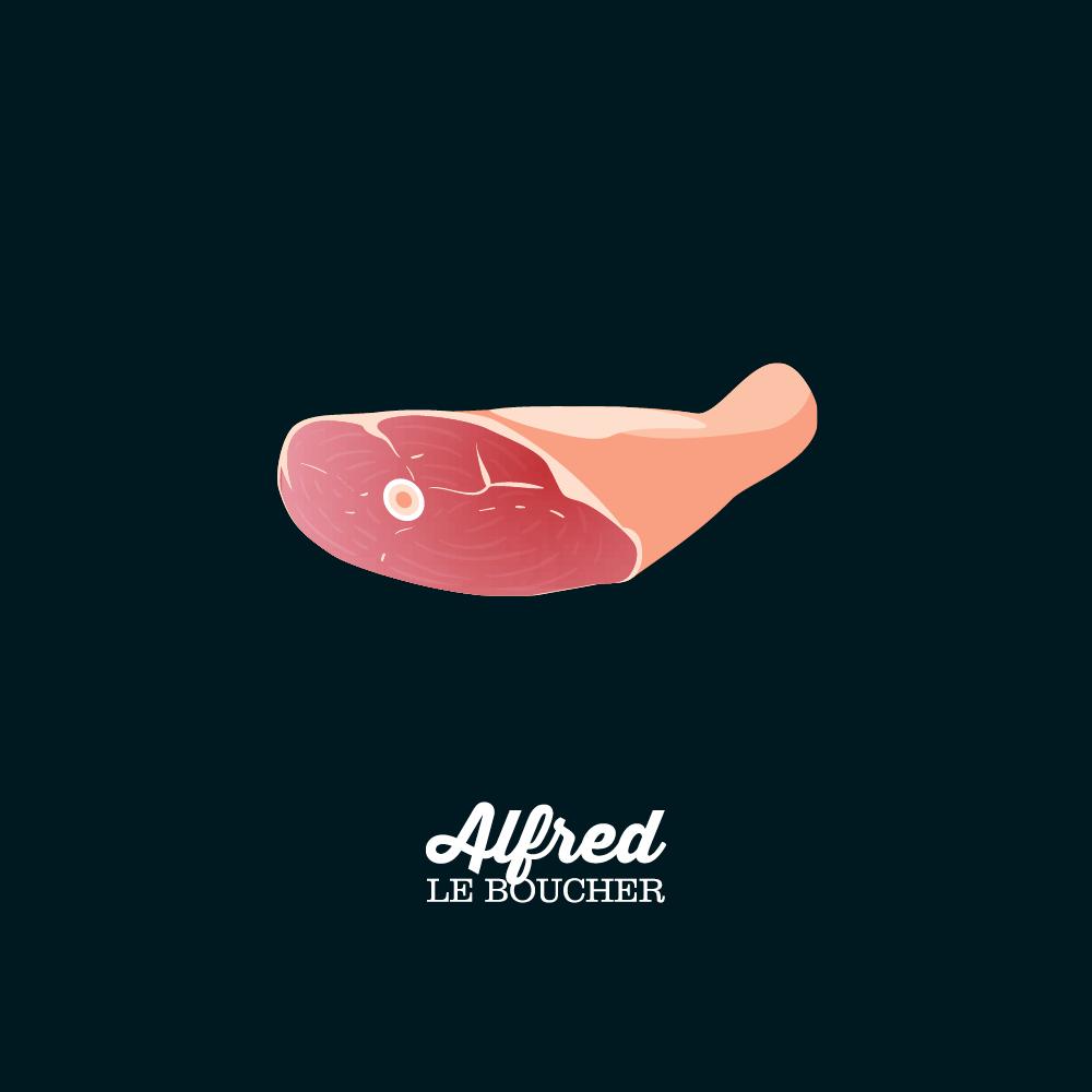 Patte de porc d'Alfred le Boucher