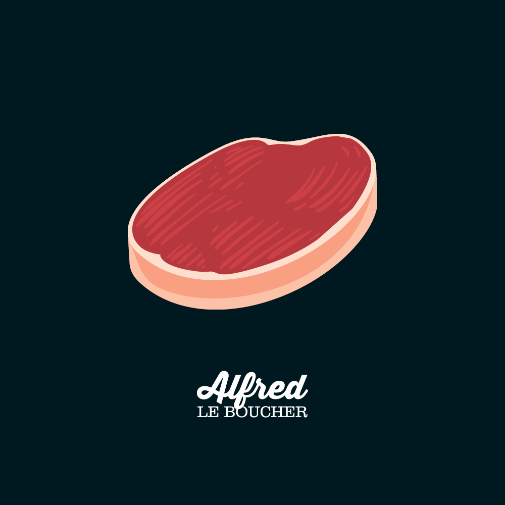 Tournedos de boeuf mariné sans bacon d'Alfred le Boucher